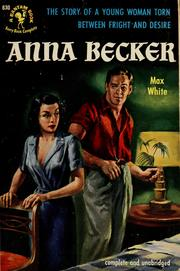 Cover of: Anna Becker | Charles William White