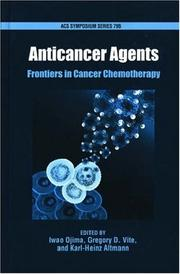 Cover of: Anticancer Agents |