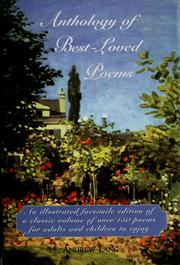 Cover of: Anthology of best-loved poems |