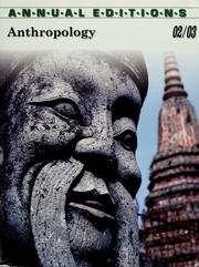 Cover of: Anthropology |