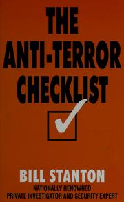 Cover of: The anti-terror checklist | Bill Stanton