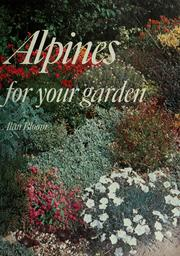 Cover of: Alpines for your garden | Bloom, Alan.