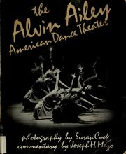 Cover of: The Alvin Ailey American Dance Theater | Susan Cook