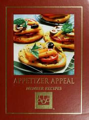Cover of: Appetizer appeal |