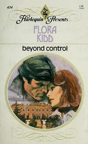 Cover of: Beyond Control | Flora Kidd