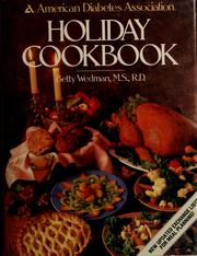 Cover of: American Diabetes Association holiday cookbook | Wedman-St. Louis, Betty.