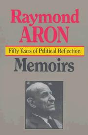 Cover of: Memoires: Fifty Years of Political Reflection