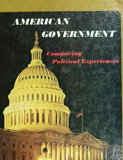 Cover of: American Government | Judith A. Gillespie