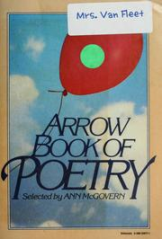 Cover of: Arrow book of poetry | Ann McGovern