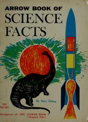 Cover of: Arrow book of science facts | Mary Elting