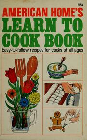 American home's learn to cook book.