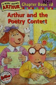 Cover of: Arthur and the poetry contest | Stephen Krensky
