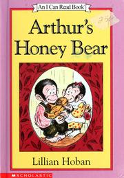 Cover of: Arthur's honey bear | Lillian Hoban