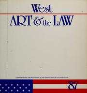 Cover of: Art & the law |