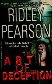 Cover of: The art of deception | Ridley Pearson