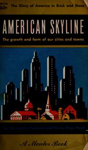 Cover of: American skyline | Christopher Tunnard