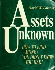 Cover of: Assets unknown | David W. Folsom