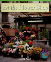 Cover of: At the flower shop | Jennifer Nowak