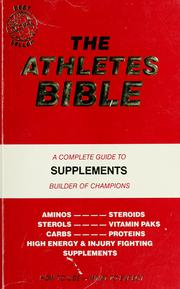 Cover of: The Athletes bible |
