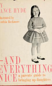 Cover of: -and everything nice | Vance Hyde