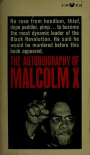 Cover of: The Autobiography of Malcolm X | Malcolm X, Alex Haley