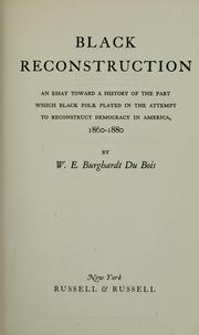 Black reconstruction