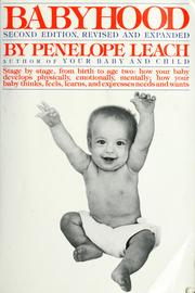 Cover of: Babyhood | Penelope Leach