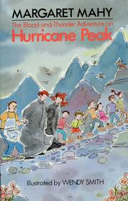 Cover of: The blood-and-thunder adventure on Hurricane Peak | Margaret Mahy
