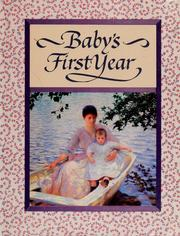Cover of: Baby's first year | Levin Marcia O