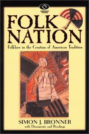 Cover of: Folk Nation | Simon J. Bronner