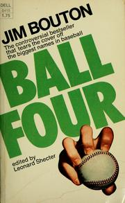 Cover of: Ball four | Jim Bouton