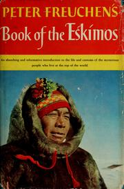 Cover of: Book of the Eskimos: Edited and with a pref. by Dagmar Freuchen.