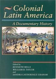 Cover of: Colonial Latin America | Kenneth Mills