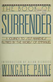 The Book of Surrender by Wingate Paine