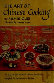 Cover of: The art of Chinese cooking. | Mimie Ouei