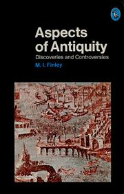 Cover of: Aspects of Antiquity | M. I. Finley