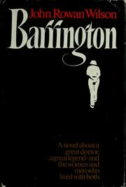 Cover of: Barrington | John Rowan Wilson
