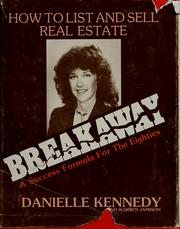 Cover of: Breakaway, a success formula for the 1980's | Danielle Kennedy