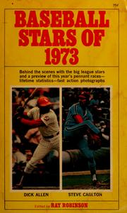 Cover of: Baseball stars of 1973 |