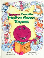 Cover of: Barney's favorite Mother Goose rhymes