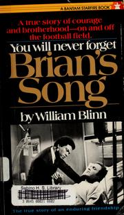 Cover of: Brian's song by William Blinn