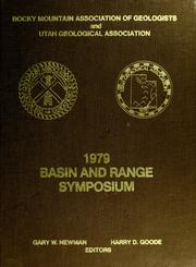 Cover of: Basin and Range Symposium and Great Basin Field Conference | Basin and Range Symposium (1979 Las Vegas, Nev.)