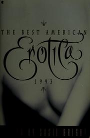 Cover of: The Best American Erotica 1993 by edited by Susie Bright.