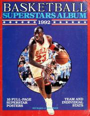Cover of: Basketball superstars album 1992 | Richard J. Brenner