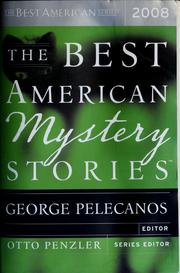 Cover of: The Best American Mystery Stories 2008