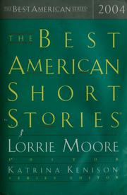 Cover of: The best American short stories, 2004
