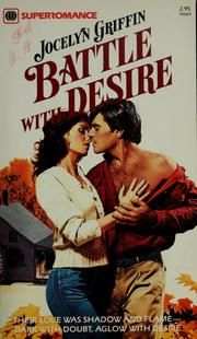 Cover of: Battle with desire | Jocelyn Griffin