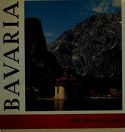Cover of: Bavaria by Klaus Brantl