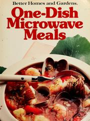 Cover of: One-dish microwave meals | Lynn Hoppe