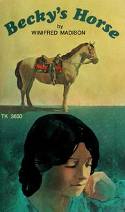 Cover of: Becky's horse | Winifred Madison